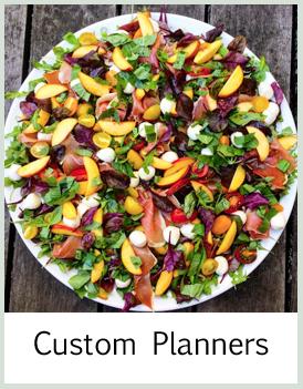 custom menu planners