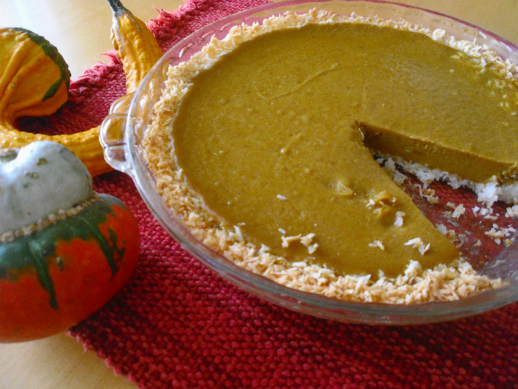 Egg-free and Nut-free Pumpkin Pie (GAPS and Paleo)